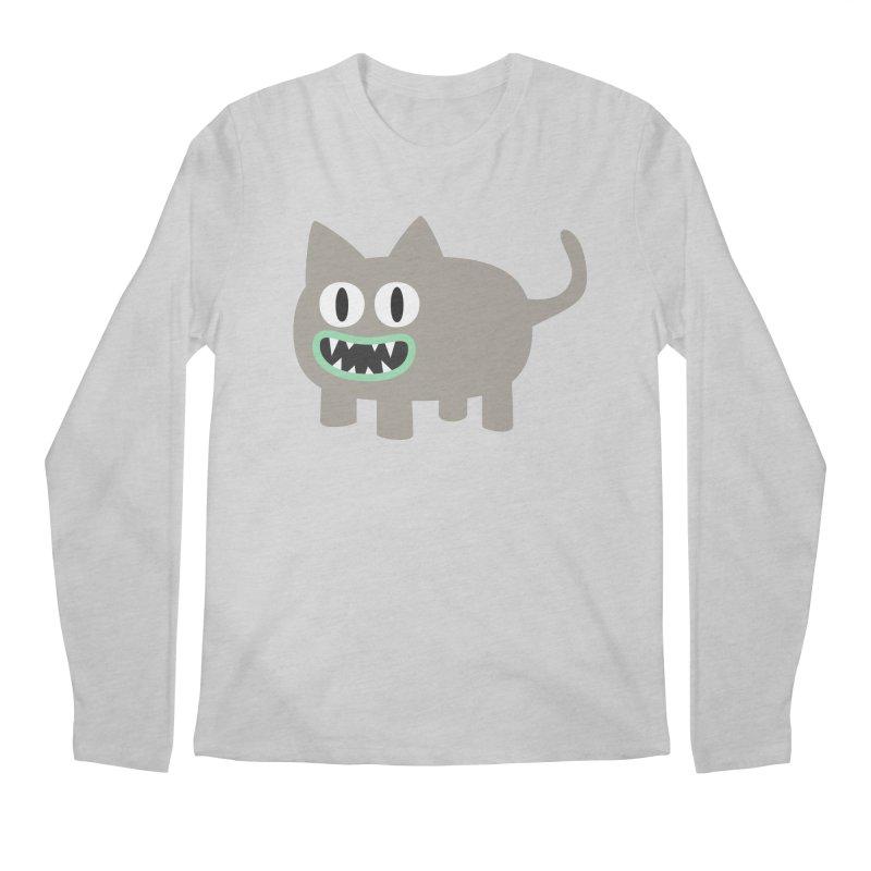 Monster kitten Men's Regular Longsleeve T-Shirt by B