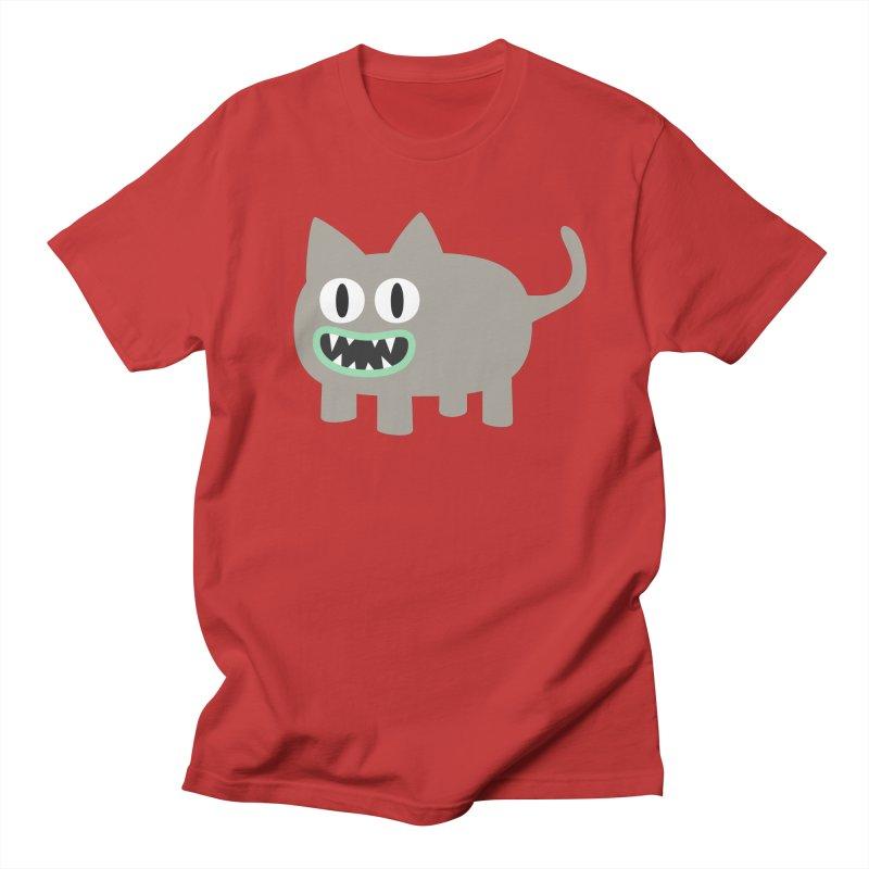 Monster kitten Men's Regular T-Shirt by B