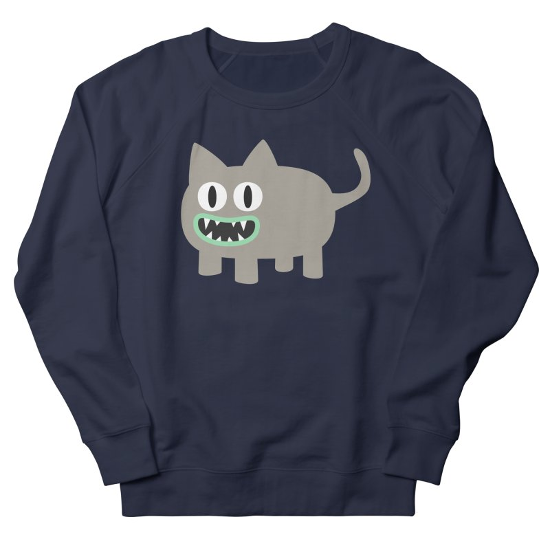 Monster kitten Women's French Terry Sweatshirt by B