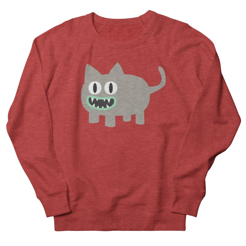 Monster kitten Men's French Terry Sweatshirt by B