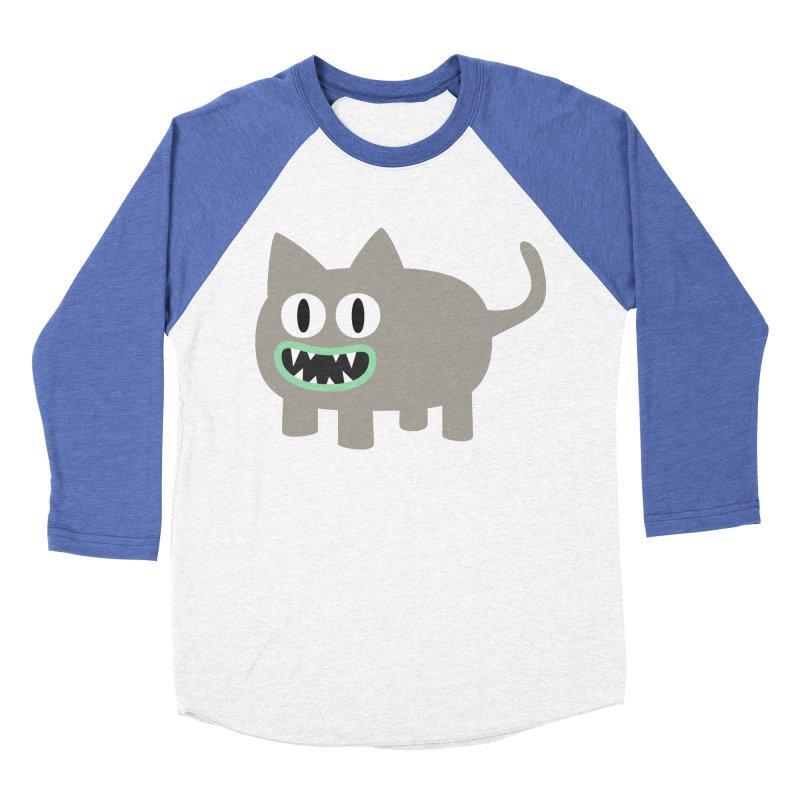 Monster kitten Women's Baseball Triblend Longsleeve T-Shirt by B