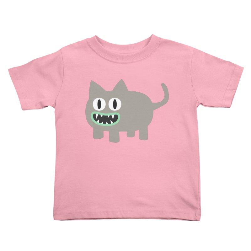 Monster kitten Kids Toddler T-Shirt by B