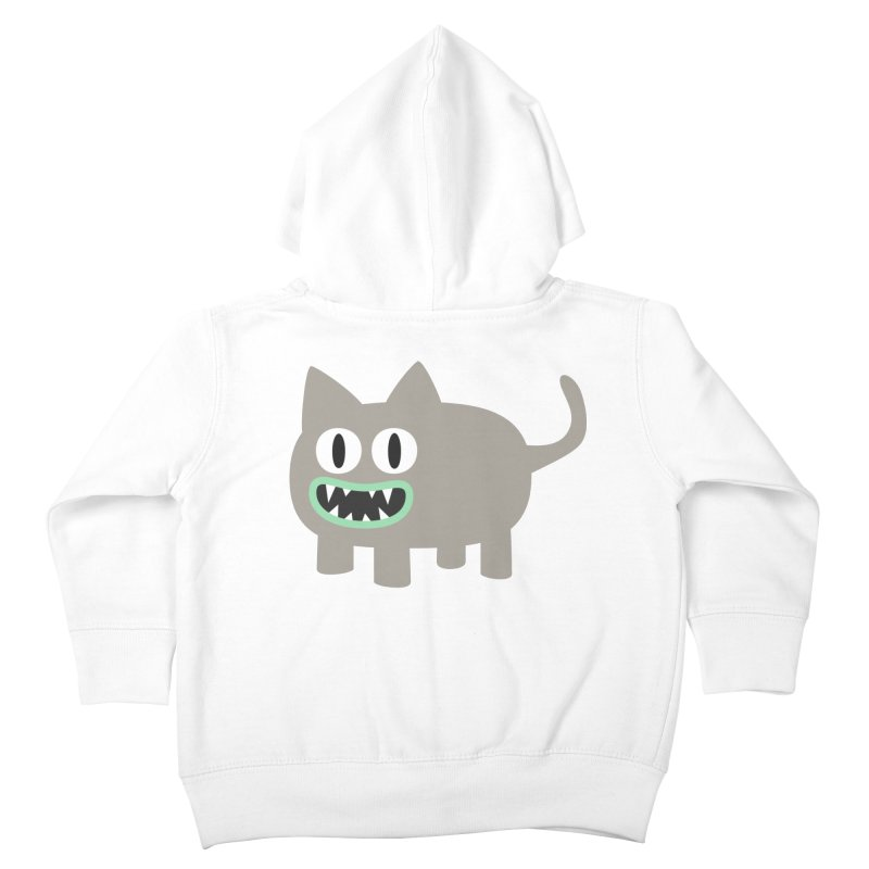 Monster kitten Kids Toddler Zip-Up Hoody by B