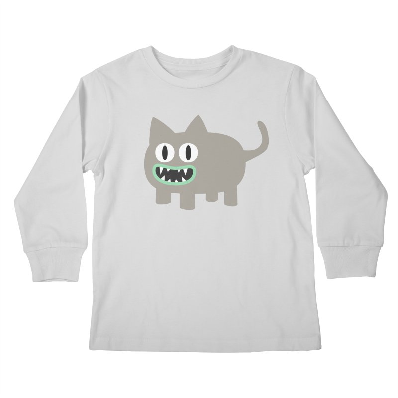 Monster kitten Kids Longsleeve T-Shirt by B