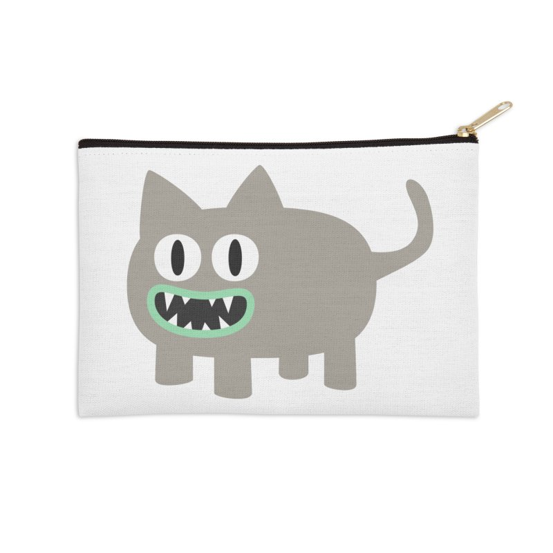Monster kitten Accessories Zip Pouch by B