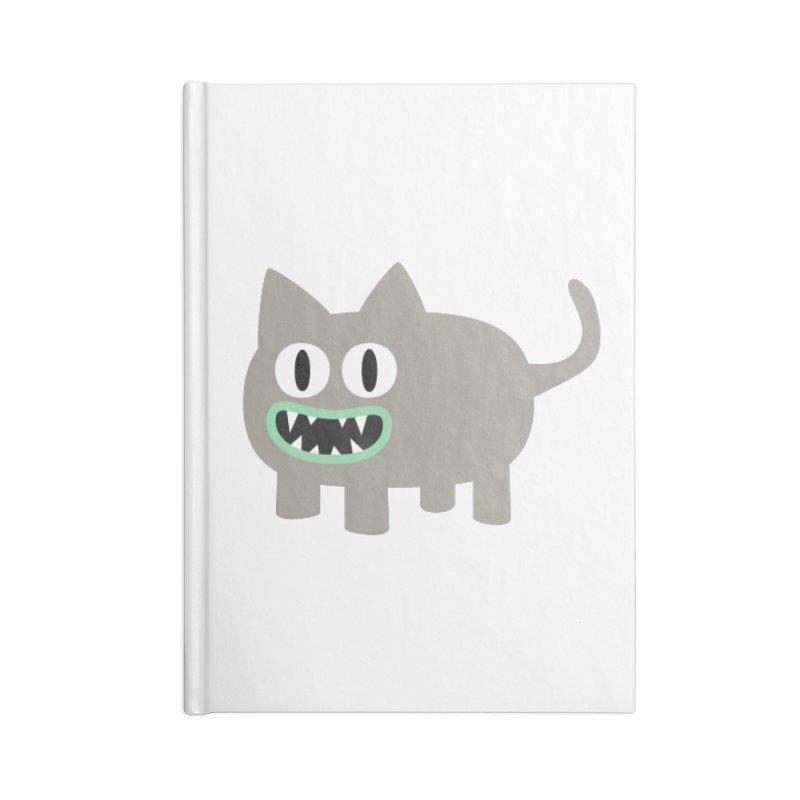 Monster kitten Accessories Notebook by B