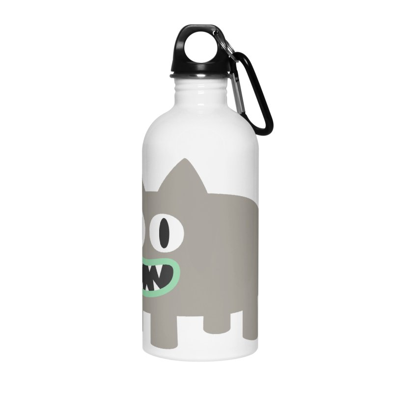 Monster kitten Accessories Water Bottle by B