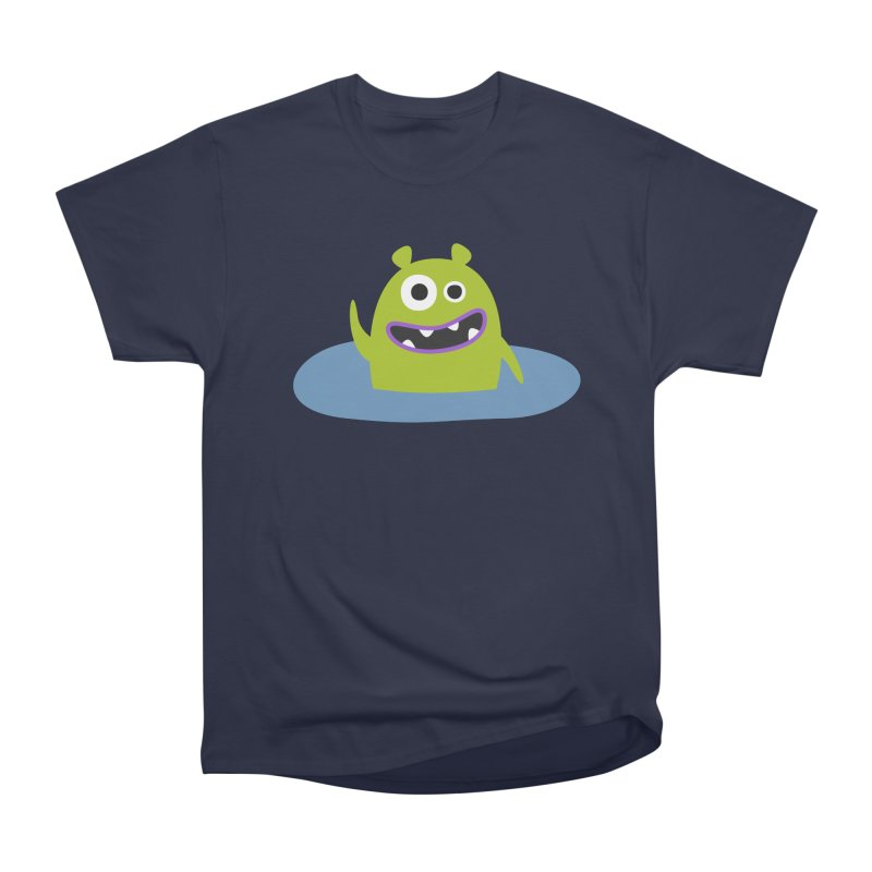 Mr. Green and the pool Men's Heavyweight T-Shirt by B