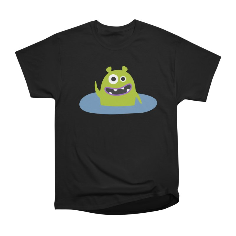 Mr. Green and the pool Women's Heavyweight Unisex T-Shirt by B