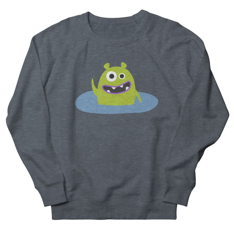 Mr. Green and the pool Men's French Terry Sweatshirt by B