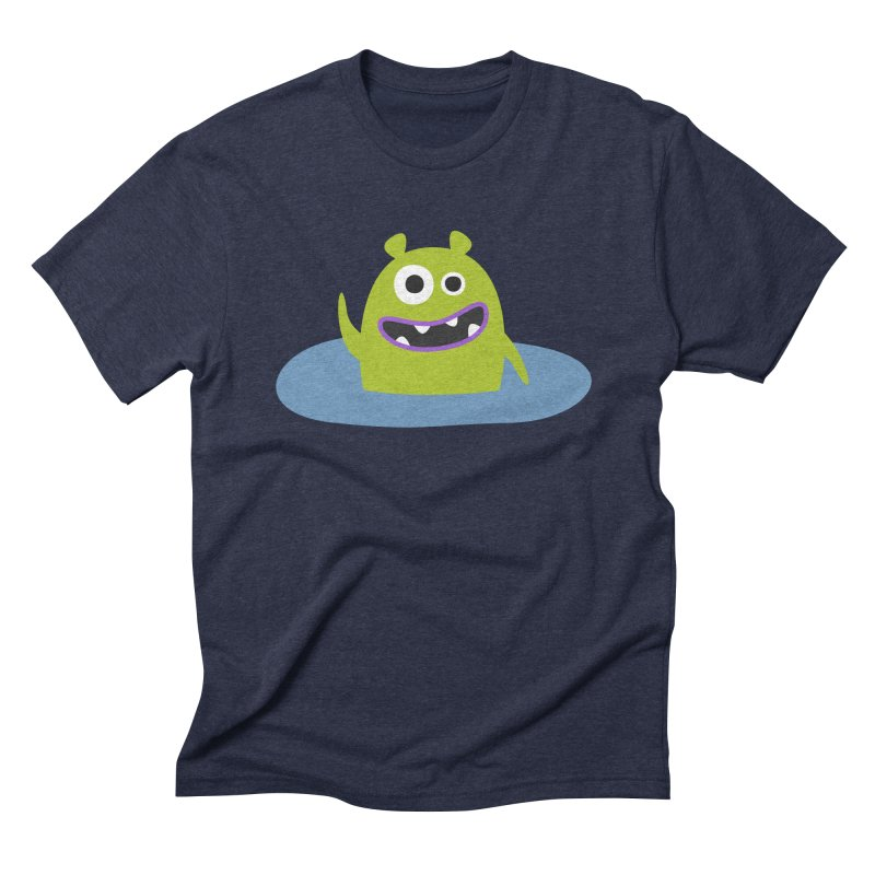 Mr. Green and the pool Men's Triblend T-Shirt by B