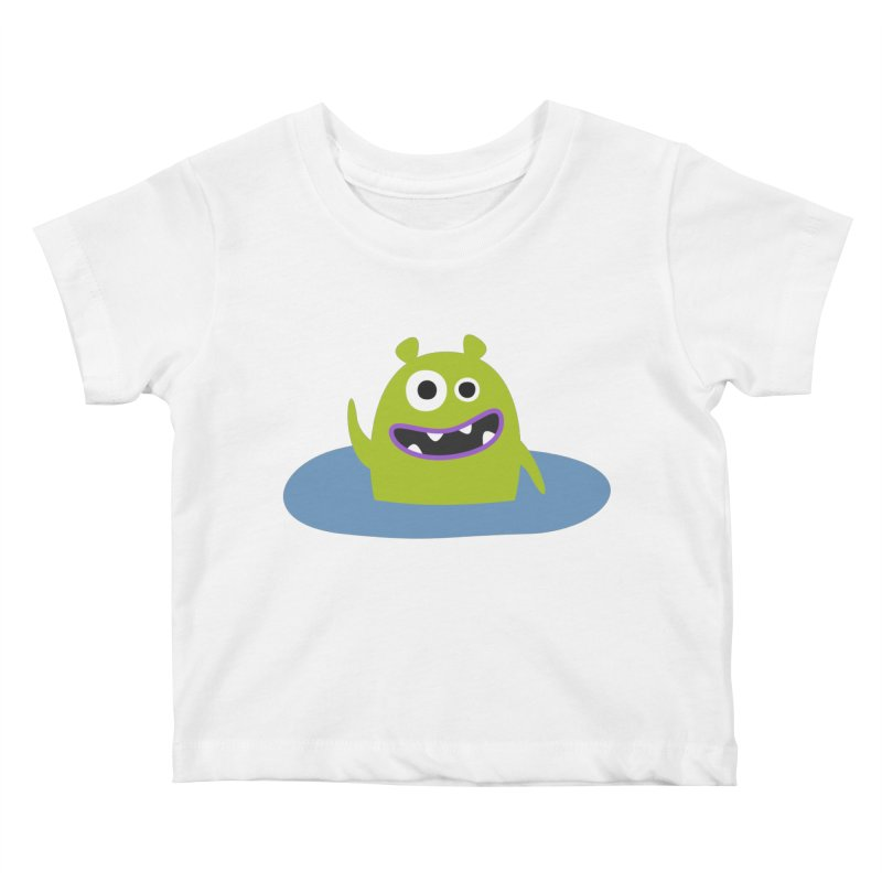 Mr. Green and the pool Kids Baby T-Shirt by B