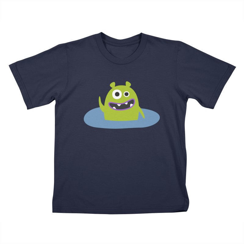 Mr. Green and the pool Kids T-Shirt by B