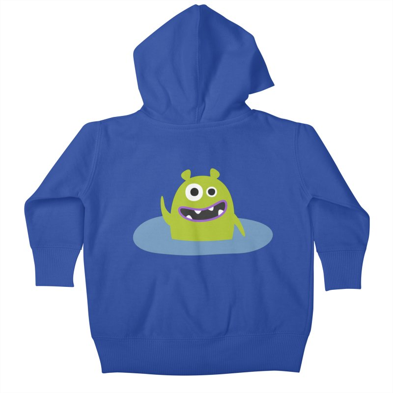 Mr. Green and the pool Kids Baby Zip-Up Hoody by B