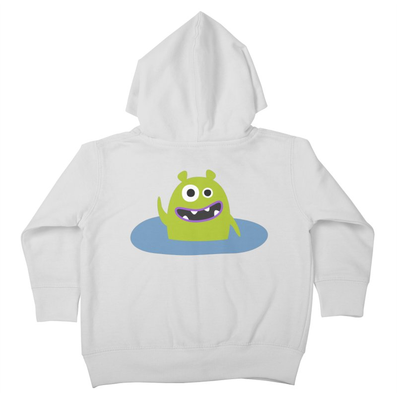 Mr. Green and the pool Kids Toddler Zip-Up Hoody by B