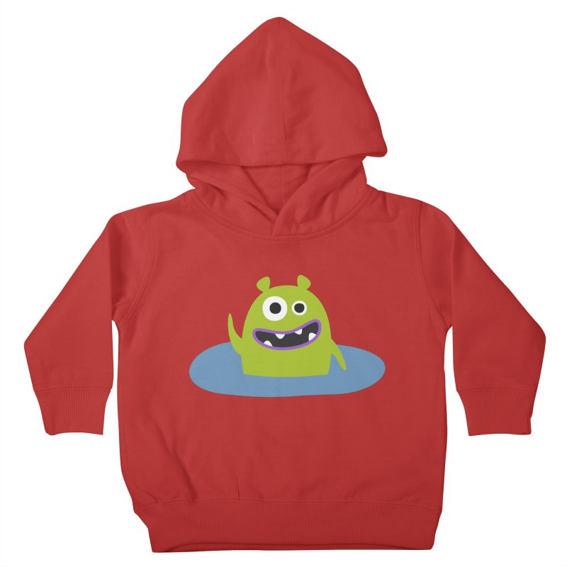 Mr. Green and the pool Kids Toddler Pullover Hoody by B