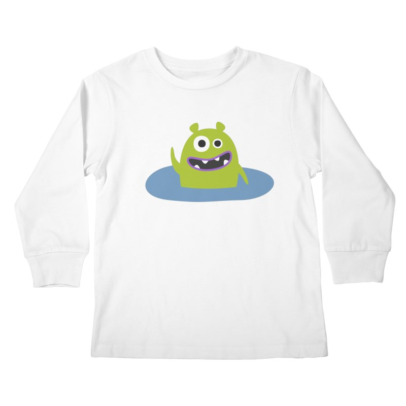 Mr. Green and the pool Kids Longsleeve T-Shirt by B