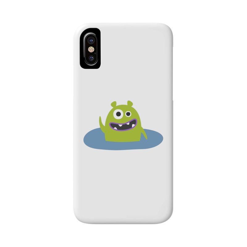Mr. Green and the pool Accessories Phone Case by B