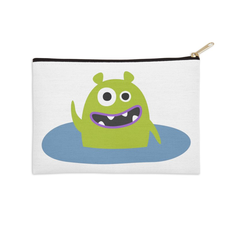 Mr. Green and the pool Accessories Zip Pouch by B