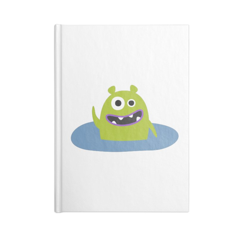 Mr. Green and the pool Accessories Notebook by B