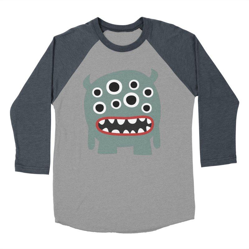 Glubschi Men's Baseball Triblend Longsleeve T-Shirt by B