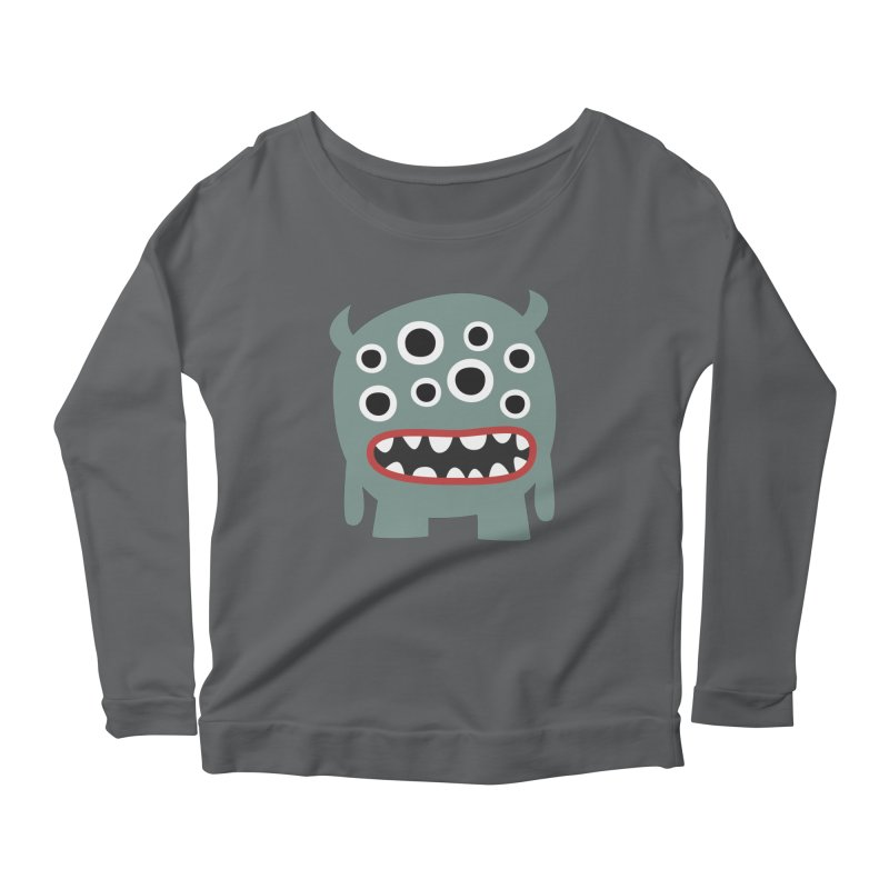 Glubschi Women's Scoop Neck Longsleeve T-Shirt by B