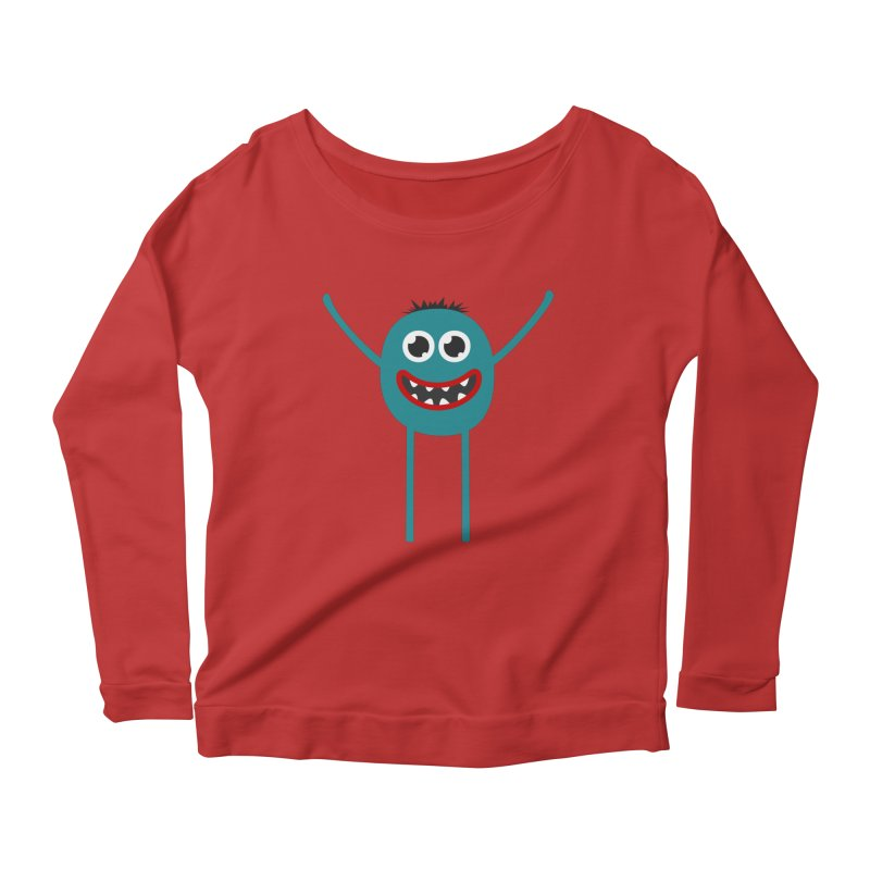 Dance with me Women's Scoop Neck Longsleeve T-Shirt by B