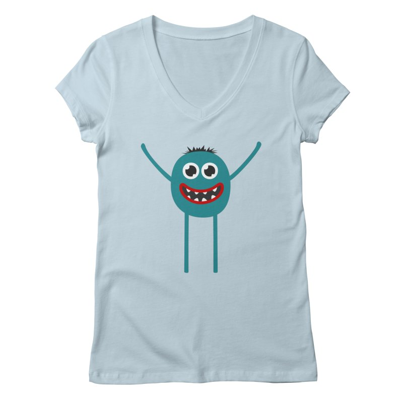 Dance with me Women's Regular V-Neck by B