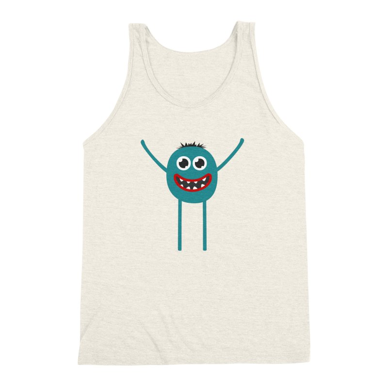 Dance with me Men's Triblend Tank by B