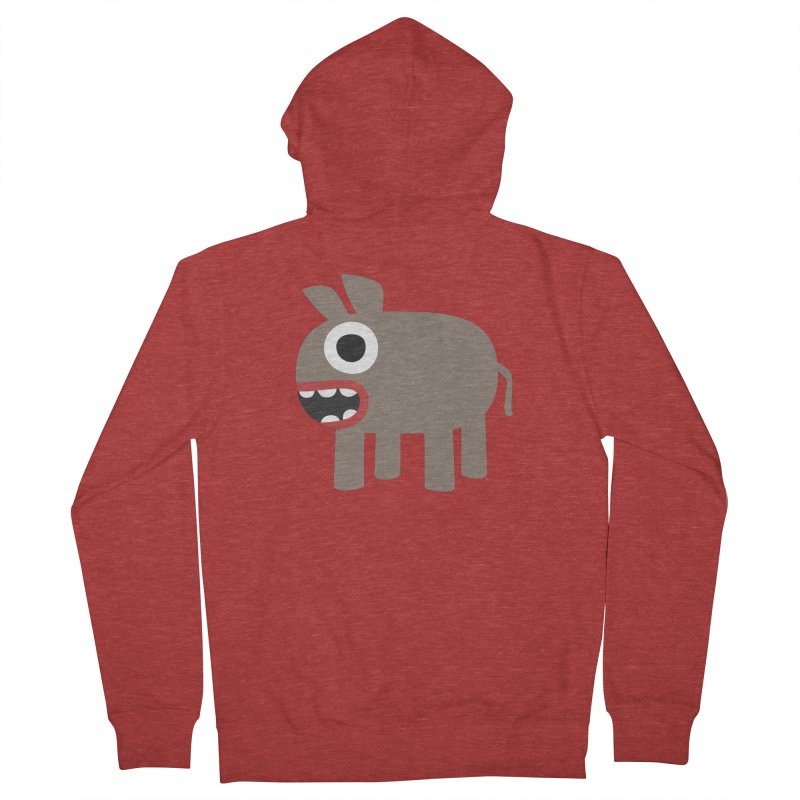 I'm a Donkey Women's French Terry Zip-Up Hoody by B