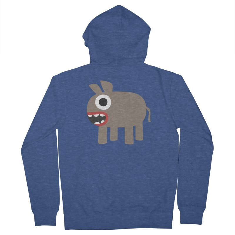 I'm a Donkey Men's French Terry Zip-Up Hoody by B
