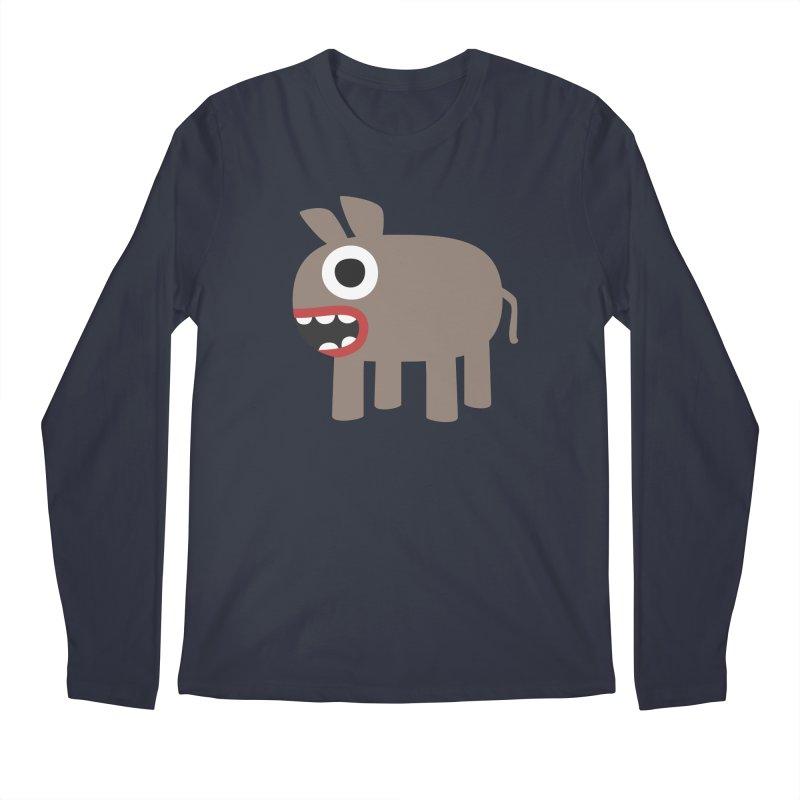 I'm a Donkey Men's Regular Longsleeve T-Shirt by B