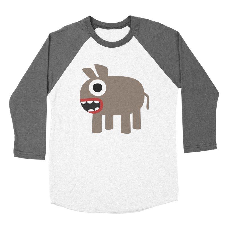 I'm a Donkey Men's Baseball Triblend Longsleeve T-Shirt by B