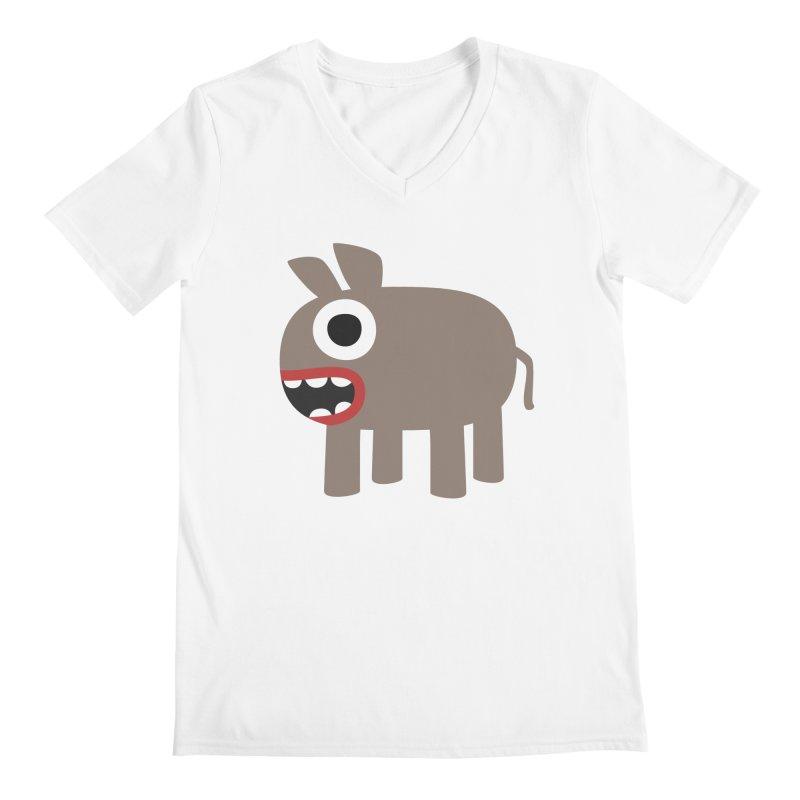 I'm a Donkey Men's Regular V-Neck by B
