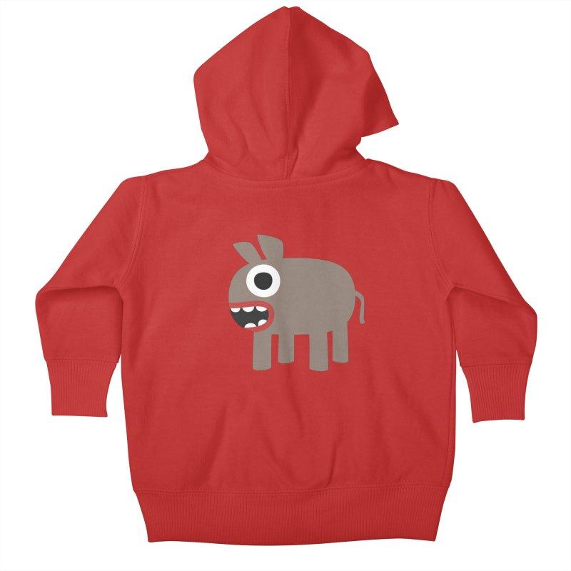 I'm a Donkey Kids Baby Zip-Up Hoody by B