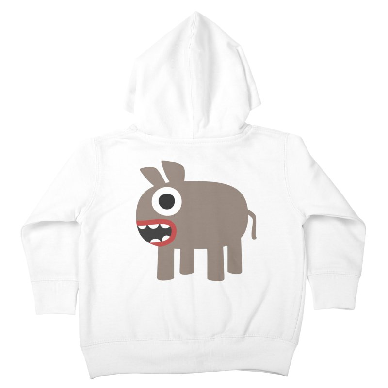 I'm a Donkey Kids Toddler Zip-Up Hoody by B
