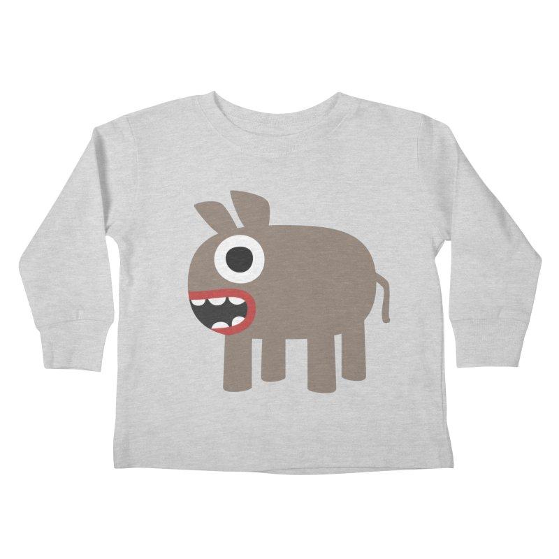 I'm a Donkey Kids Toddler Longsleeve T-Shirt by B