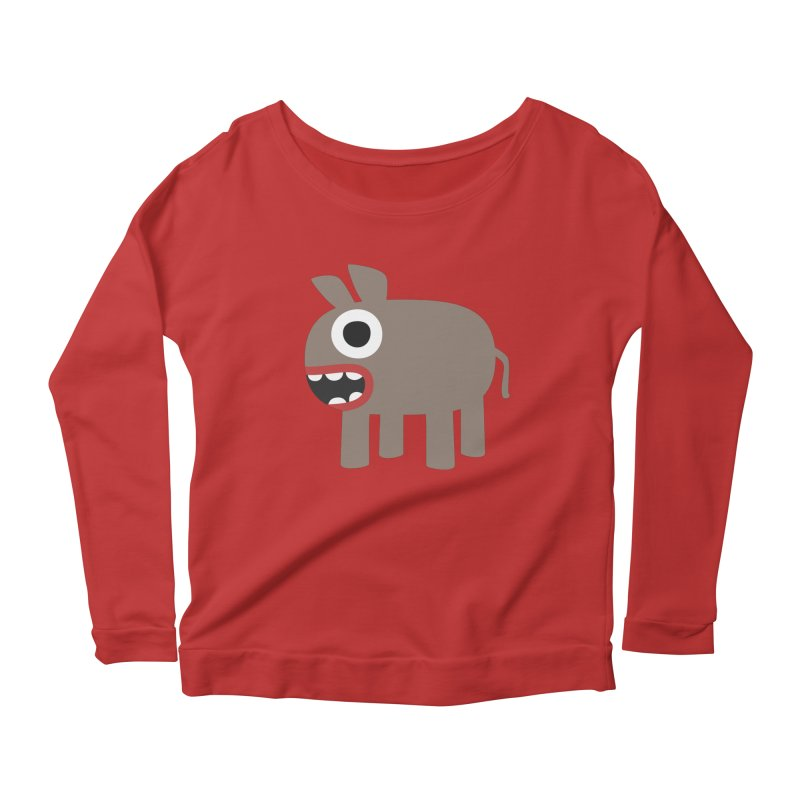 I'm a Donkey Women's Scoop Neck Longsleeve T-Shirt by B