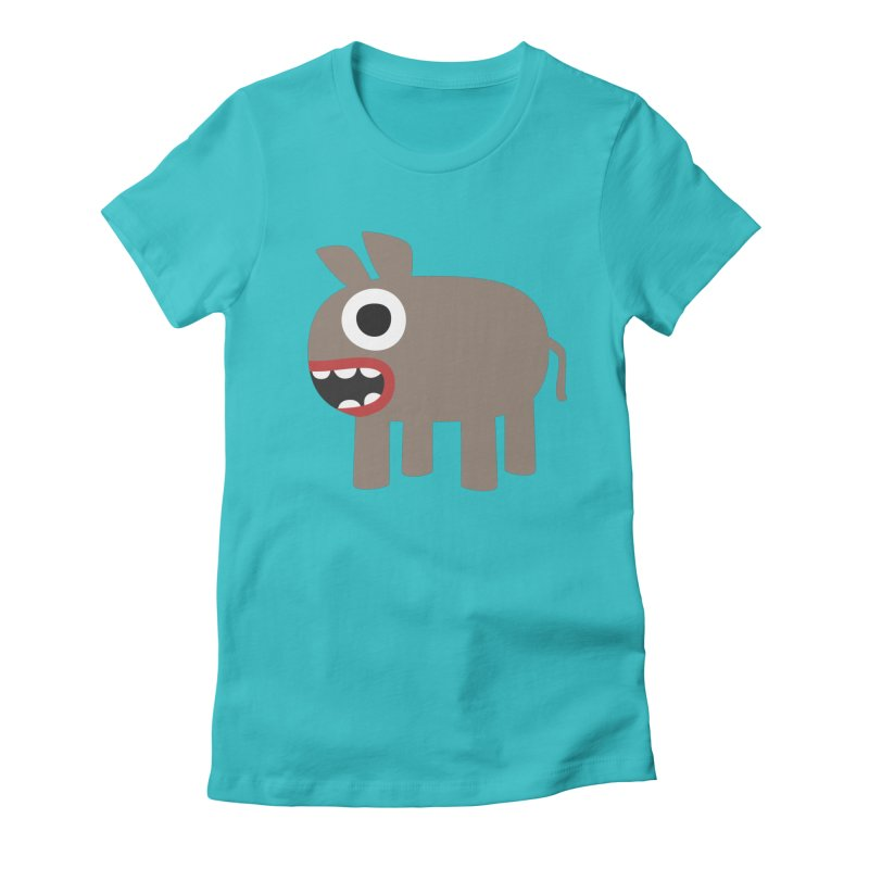 I'm a Donkey Women's Fitted T-Shirt by B
