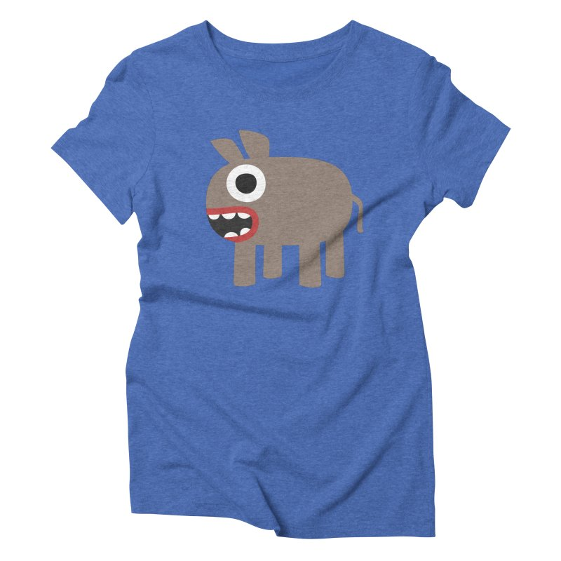 I'm a Donkey Women's Triblend T-Shirt by B