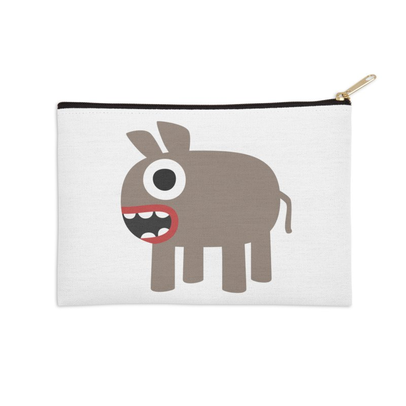 I'm a Donkey Accessories Zip Pouch by B