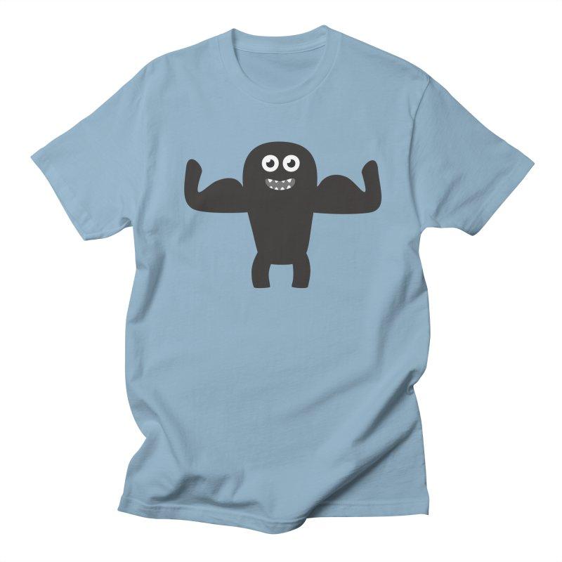 Arnold the Muscleman Men's Regular T-Shirt by B
