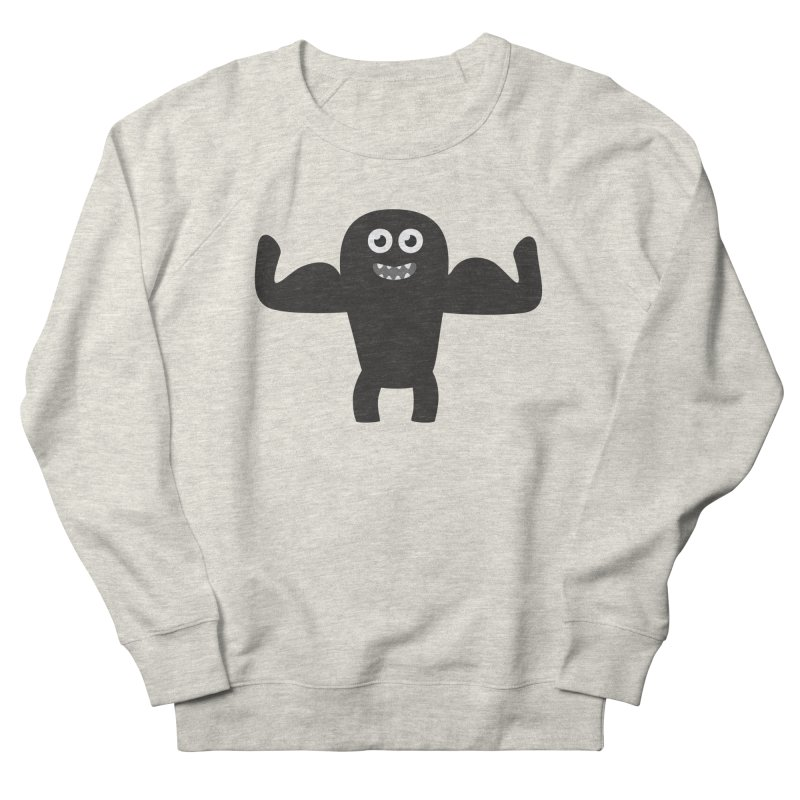 Arnold the Muscleman Men's French Terry Sweatshirt by B