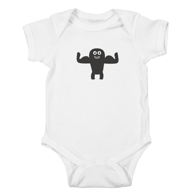 Arnold the Muscleman Kids Baby Bodysuit by B