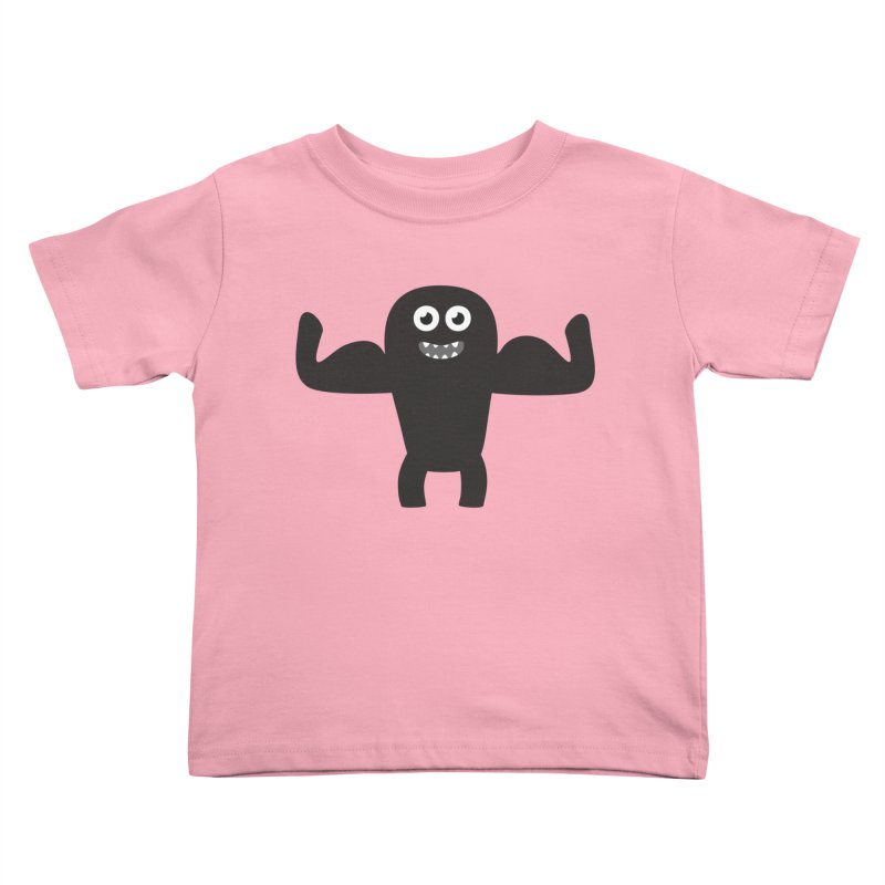 Arnold the Muscleman Kids Toddler T-Shirt by B