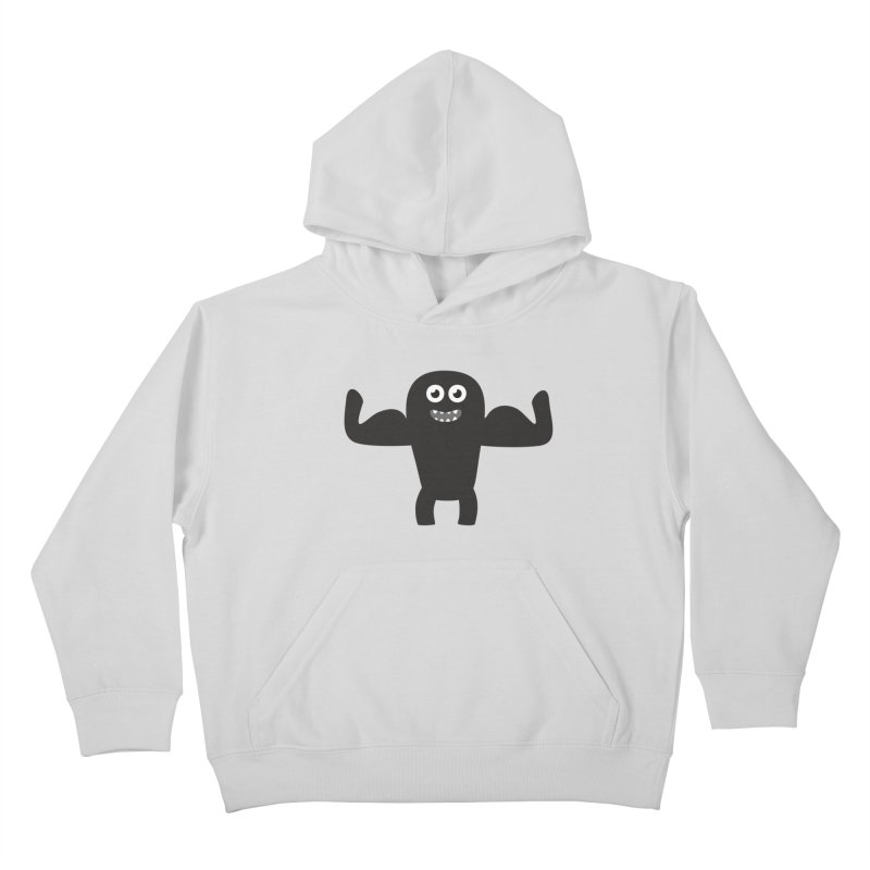 Arnold the Muscleman Kids Pullover Hoody by B