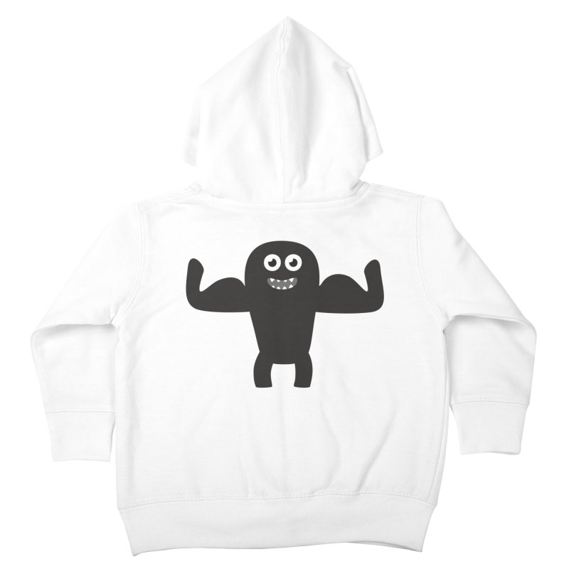 Arnold the Muscleman Kids Toddler Zip-Up Hoody by B