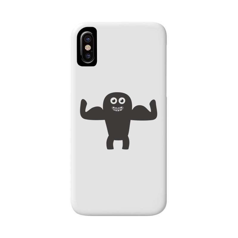 Arnold the Muscleman Accessories Phone Case by B