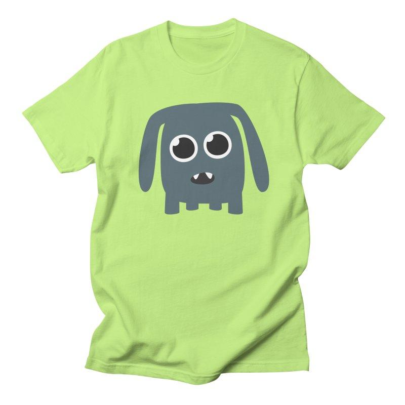 Monster Doggy in Men's Regular T-Shirt Neon Green by B