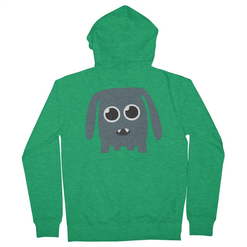 Monster Doggy Women's French Terry Zip-Up Hoody by B